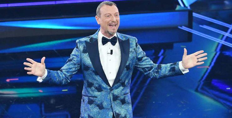 Amadeus guadagno Sanremo