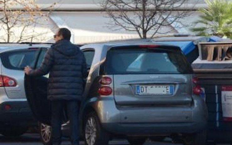 Carlo conti macchina auto