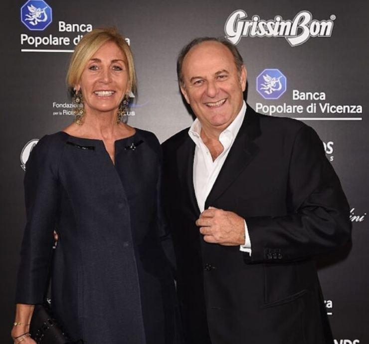 Gerry Scotti e la compagna