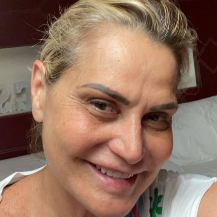 Simona Ventura Senza Trucco