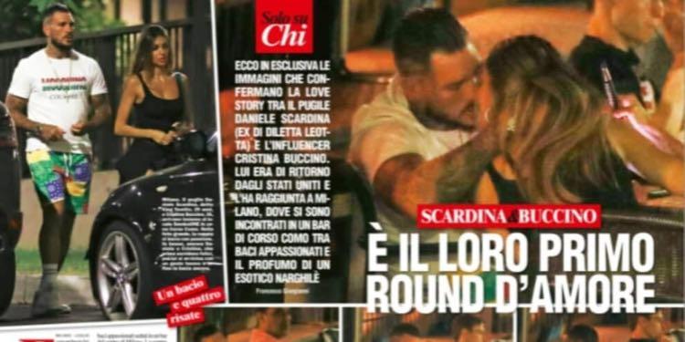 Cristina Buccino daniele scardina