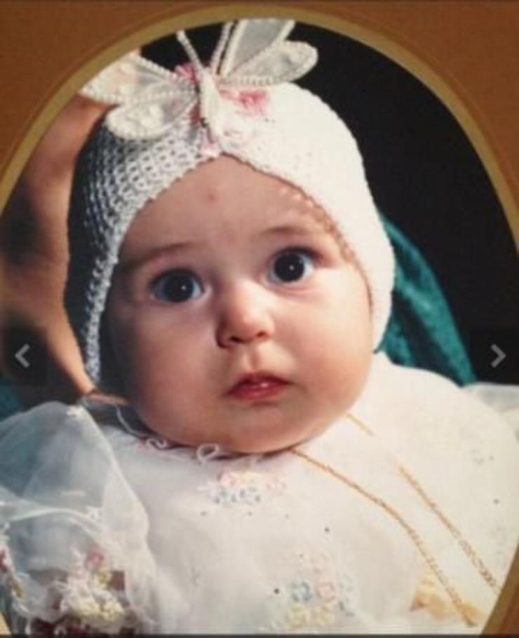Raffaella Fico bambina