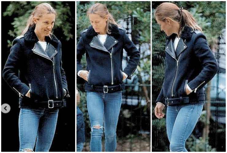 Pippa Middleton cambiamento