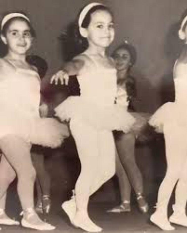 d'urso ballerina da piccola